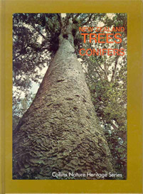 New Zealand Trees Conifers - Cover