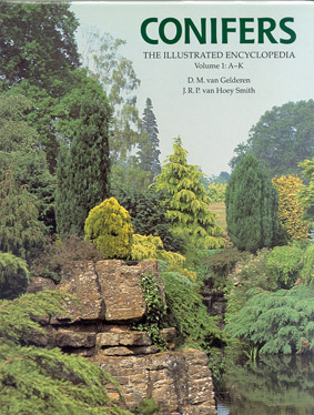 Conifers: The Illustrated Encyclopedia - Cover