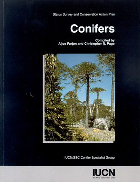 Conifers, Status Survey and Conservation Action Plan - Cover